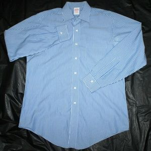 Brooks Brothers 1818 Mens Long Sleeve Button Shirt